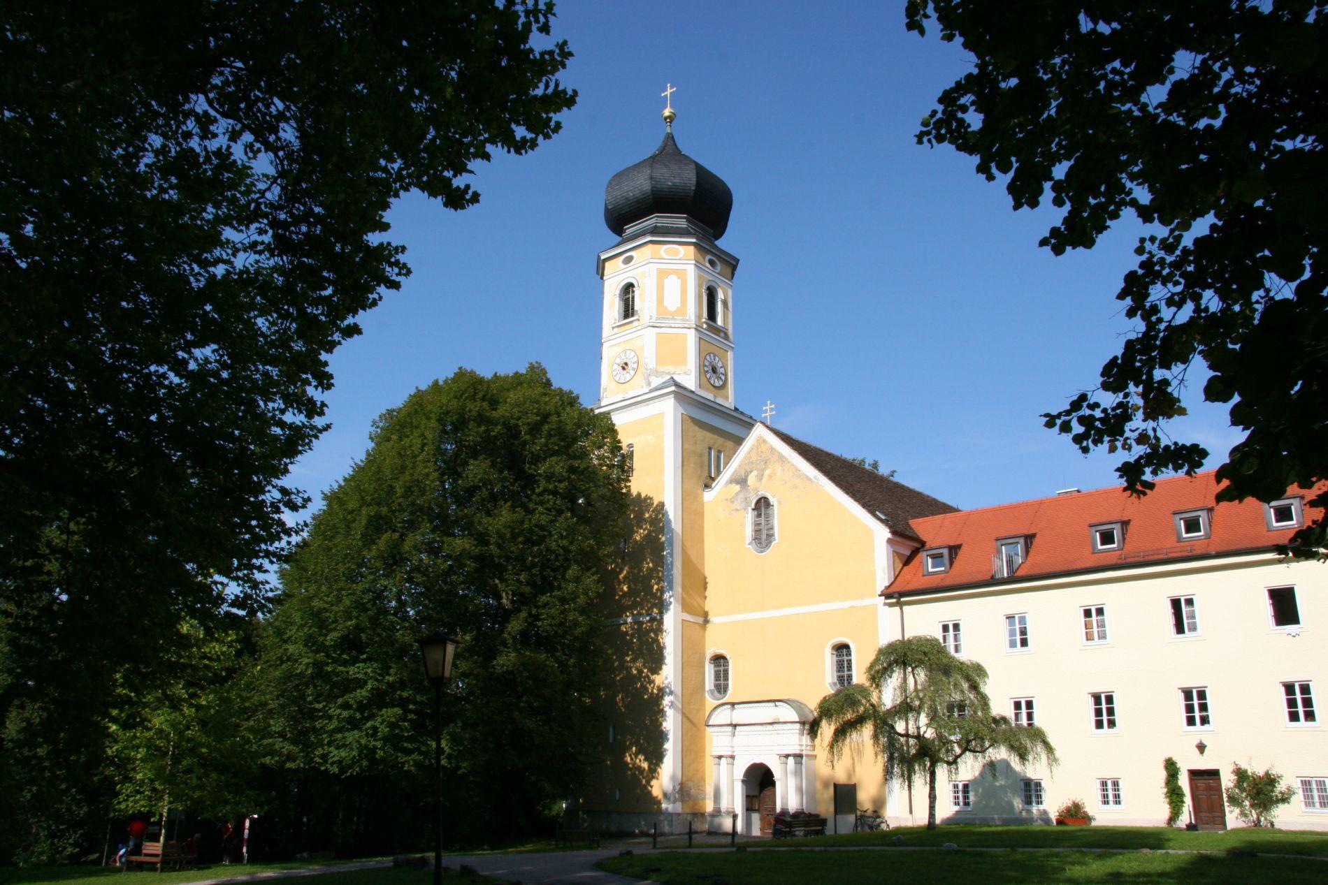 Die Pfarrkirche vor der Renovierung