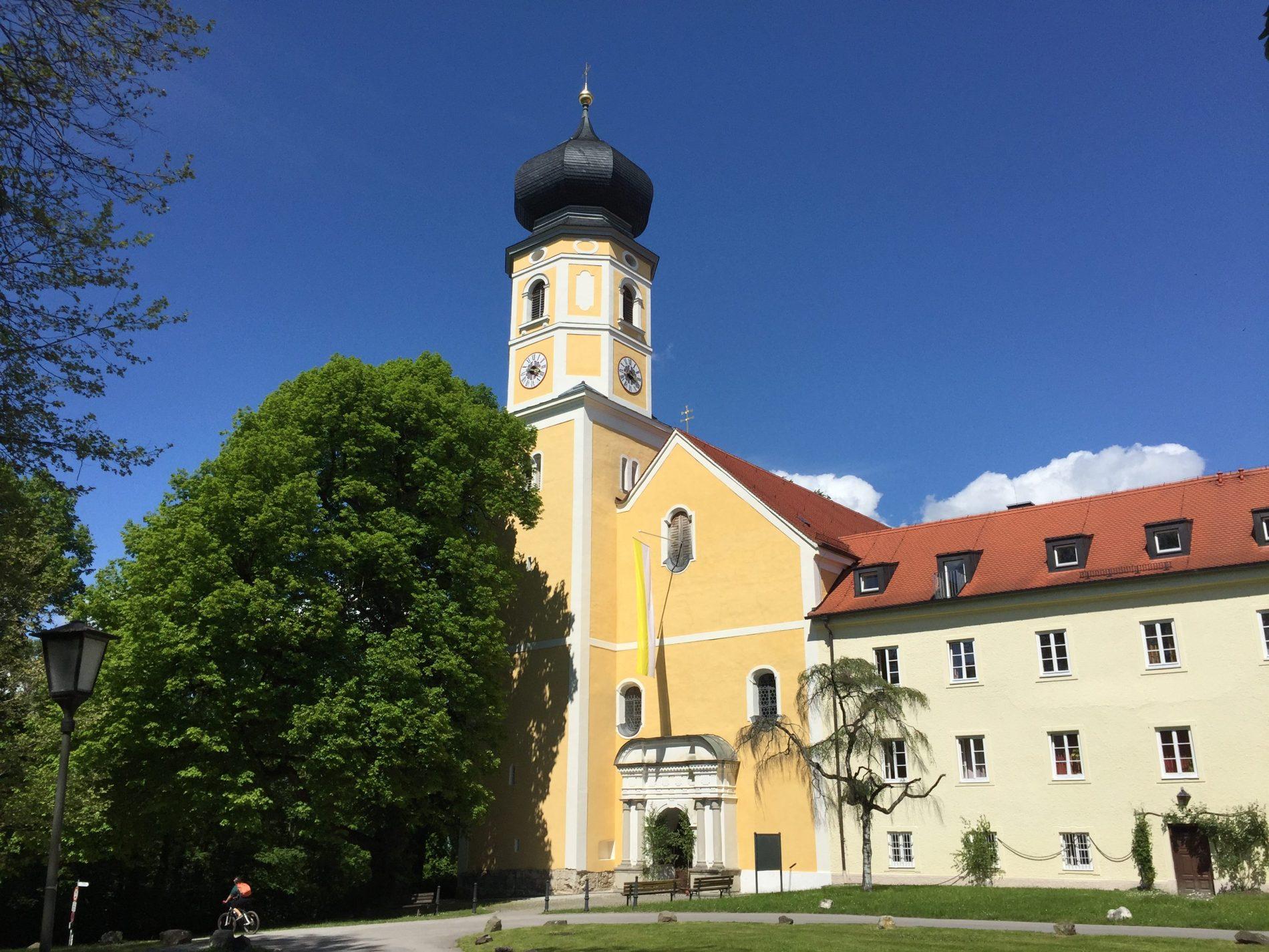 Die renovierte Pfarrkirche
